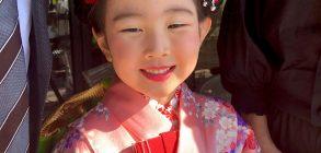 七五三のお客様💐聖蹟桜ヶ丘の美容室GREEN