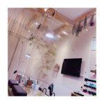 ネイルサロンGREENroom ビニールカーテン